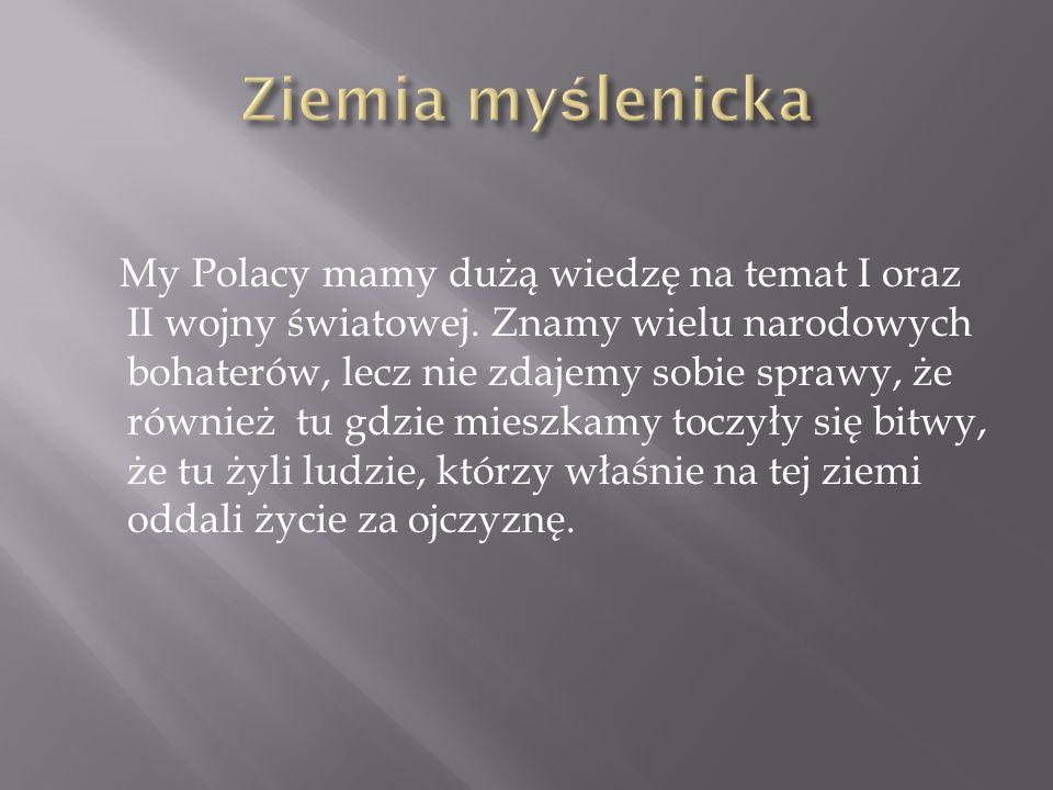 My Polacy mamy dużą wiedzę na temat I oraz II wojny światowej. Znamy wielu narodowych bohaterów, lecz nie zdajemy sobie sprawy, że również tu gdzie mi