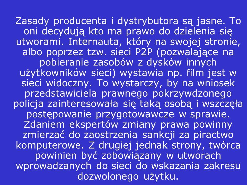 Prof. Nowińska podkreśla problem tzw. dozwolonego użytku.Prawnicy prawie od 15 lat zastanawiają się, co zrobić, by ograniczyć niedozwolone korzystanie