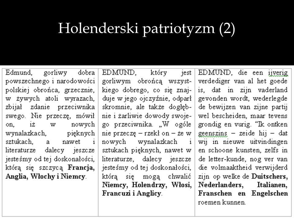 Holenderski patriotyzm (2)