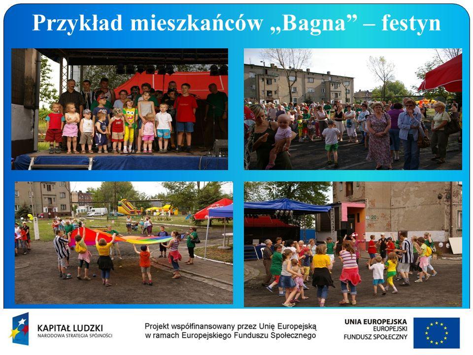 Przykład mieszkańców Bagna – festyn