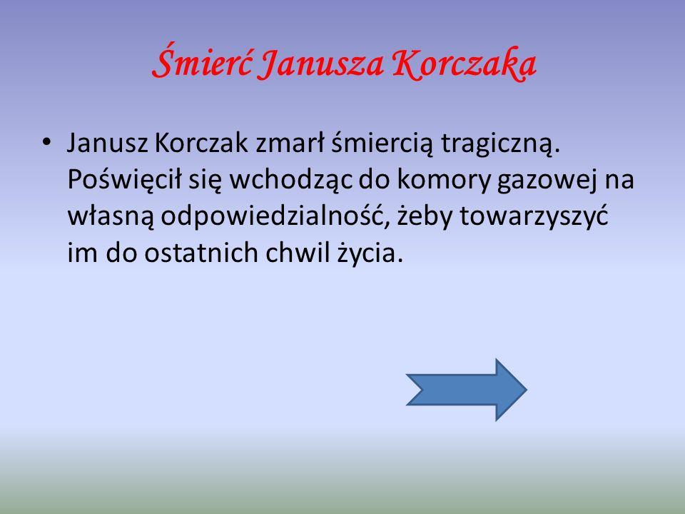 Utwory Janusza Korczaka