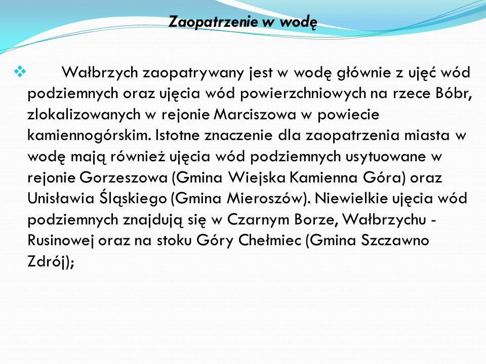 Energia elektryczna Przesyłanie oraz dystrybucja energii elektrycznej na obszarze miasta Wałbrzycha jest przedmiotem działalności EnergiaPro Koncern E