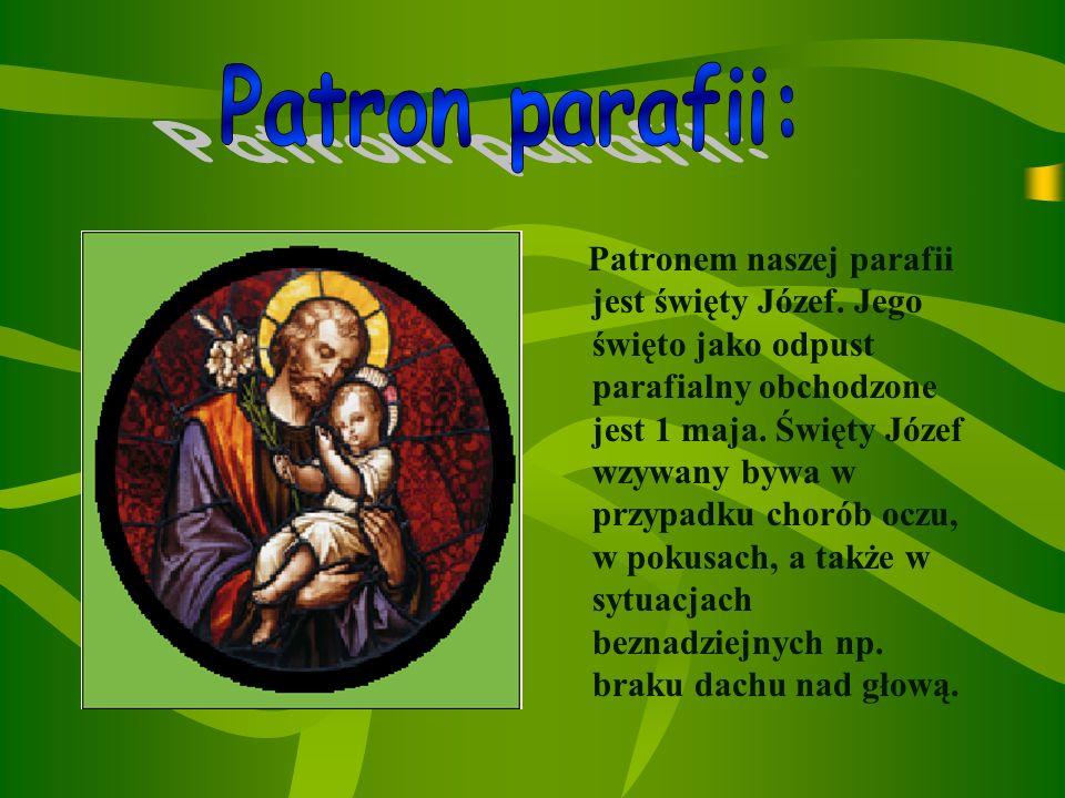 W naszej parafii jest dwóch księży: Ksiądz Eugeniusz Góra Ksiądz proboszcz Eugeniusz Stopka