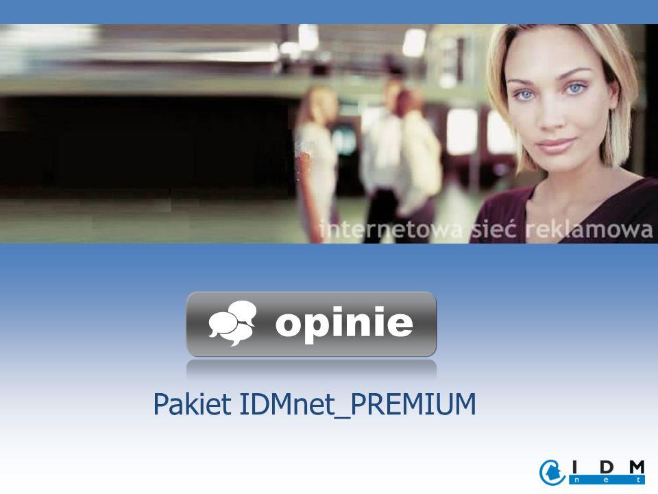Pakiet IDMnet_PREMIUM opinie