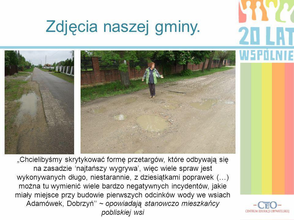 (…) Bez kanalizacji i rozbudowy oczyszczalni ścieków nie będzie można budować nowych budynków.