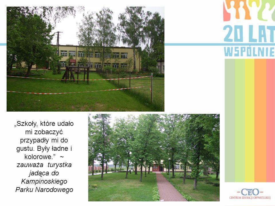 Niedawno był odnowiony teren wokół starej szkoły w Łosiej Wólce, jest tam zbudowany plac zabaw, boisko oraz drużyna piłkarska, którą opiekuje się radny: Pan Abramczyk ~ chwali sołtys Dobrzynia