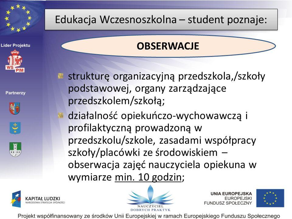 strukturę organizacyjną przedszkola,/szkoły podstawowej, organy zarządzające przedszkolem/szkołą; działalność opiekuńczo-wychowawczą i profilaktyczną