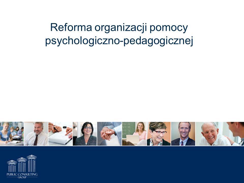 Reforma organizacji pomocy psychologiczno-pedagogicznej
