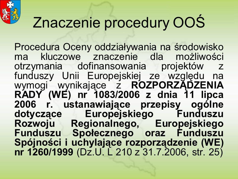 Wniosek podmiotu planującego przedsięwzięcie (art.73) do wójta, burmistrza, prezydenta (RDOŚ w przypadku terenów zamkniętych) – art.75 ust.