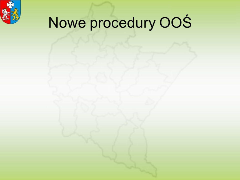 Nowe procedury OOŚ