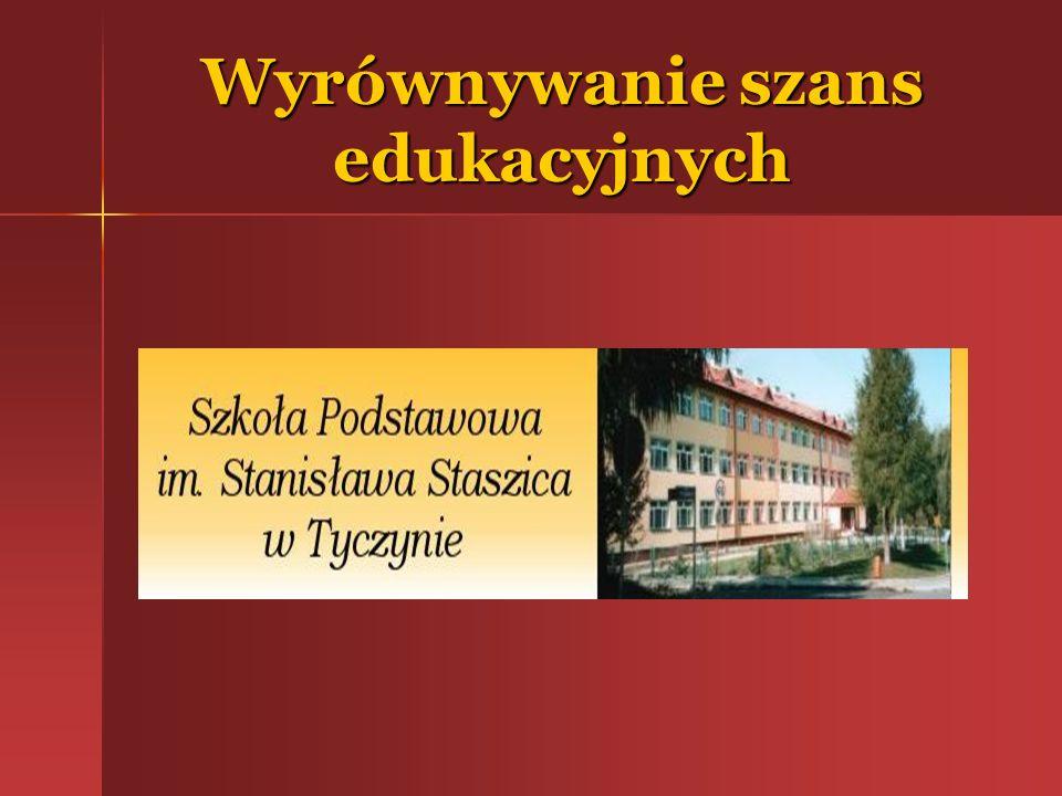 Kształcenie otwarte ( e – learning) Szkoła Podstawowa w Tyczynie zdeklarowała przystąpienie Szkoła Podstawowa w Tyczynie zdeklarowała przystąpienie do tworzącego się projektu Centra kształcenia na odległość, realizowanego przez fundację Edukacji Ekonomicznej.