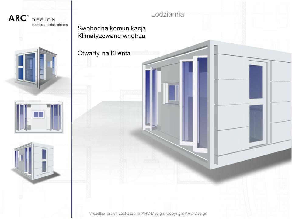 Swobodna komunikacja Klimatyzowane wnętrza Otwarty na Klienta Wszelkie prawa zastrzeżone ARC-Design, Copyright ARC-Design Lodziarnia