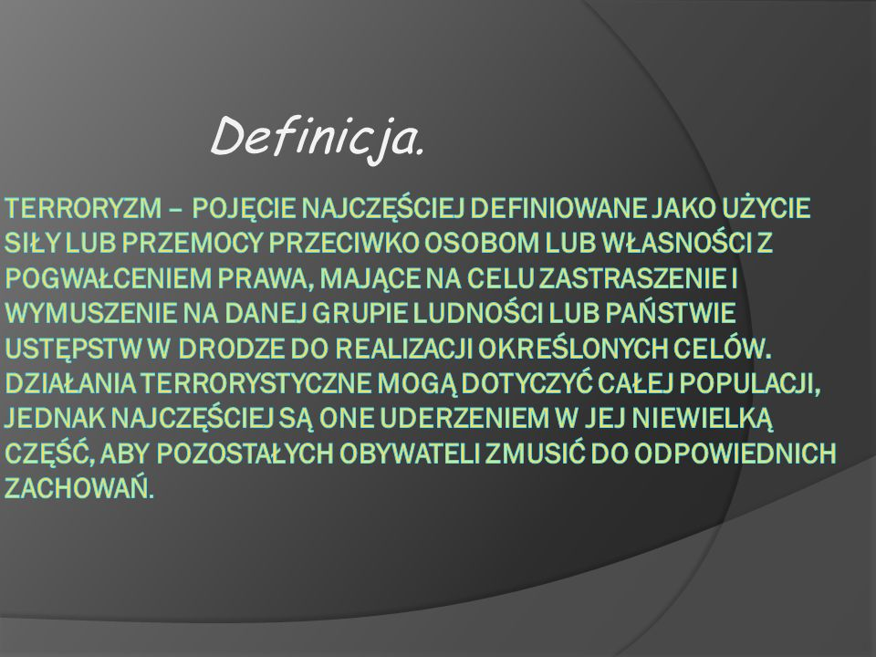 1-3 września 2004 roku - napastnicy opanowali szkołę w Biesłanie w północnej Osetii i więzili kilkuset zakładników.