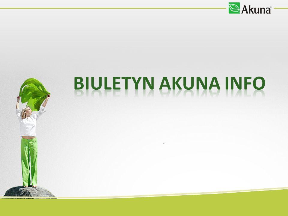 BIULETYN AKUNA INFO Kolejny numer ukaże się na początku lipca, a już we wrześniu – Akuna info wraz z medycznym numerem specjalnym!