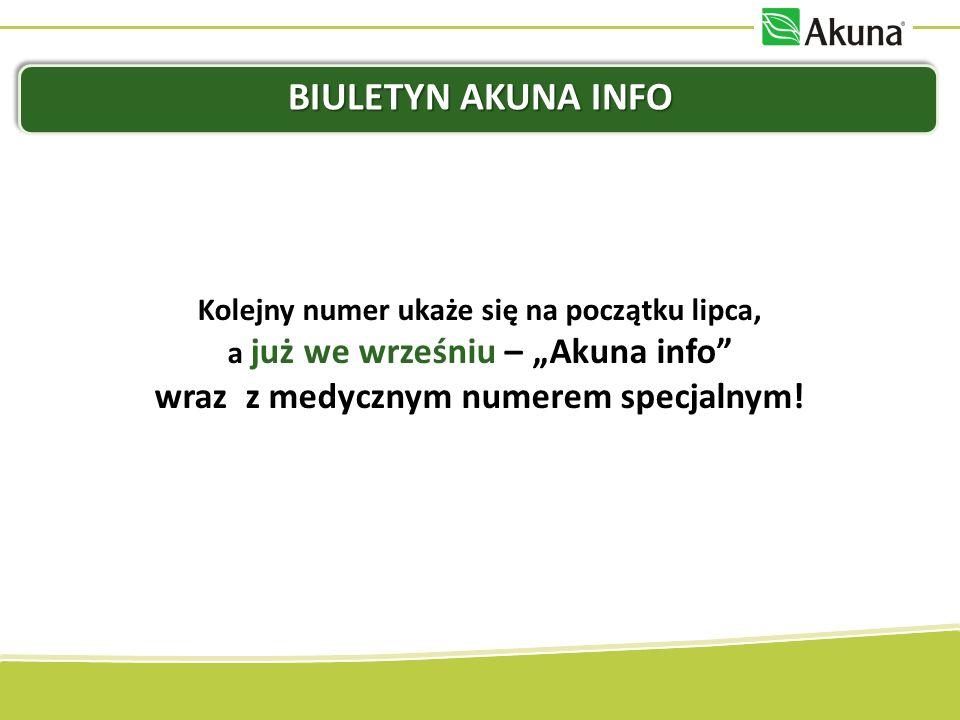 AKUPUNKTURA PRZYPOMINAMY: W czerwcu, w ramach opcji Produkt za 1 PLN możesz otrzymać 10 opakowań AkuEnergy za jedyne 100 PLN.