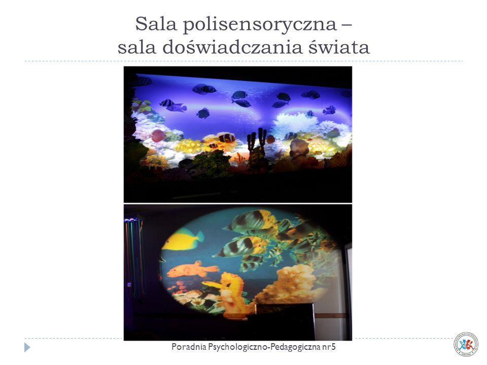 Sala polisensoryczna – sala doświadczania świata Poradnia Psychologiczno-Pedagogiczna nr5
