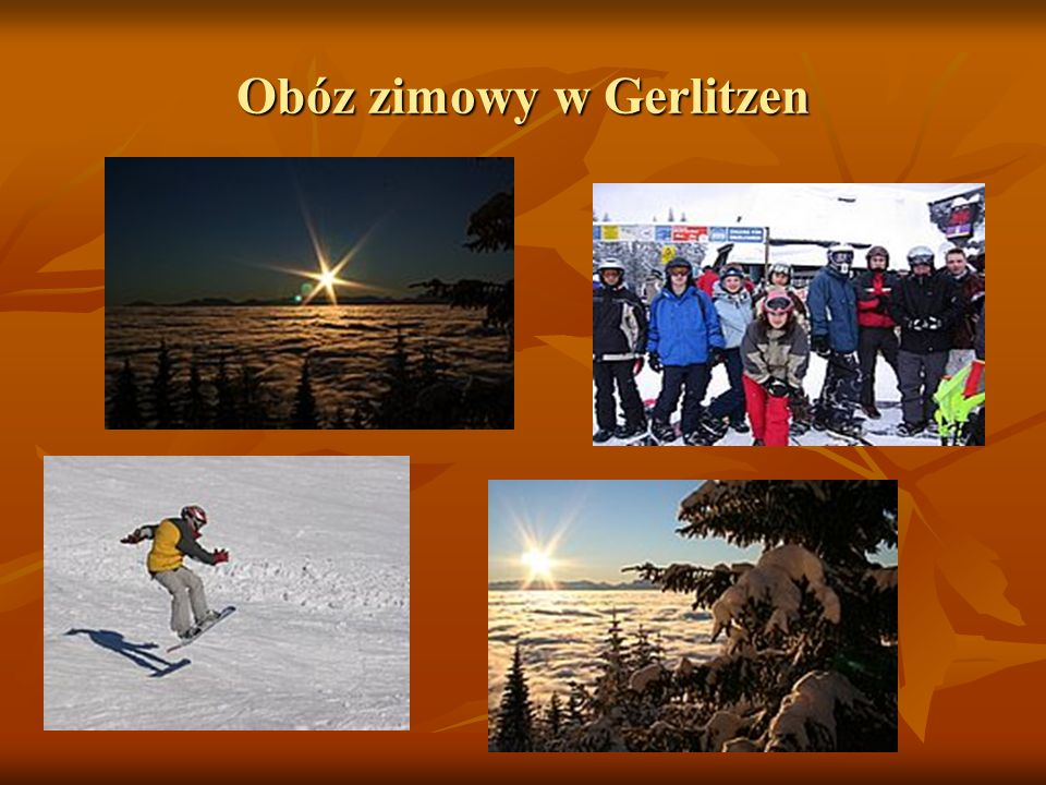 Obóz zimowy w Gerlitzen