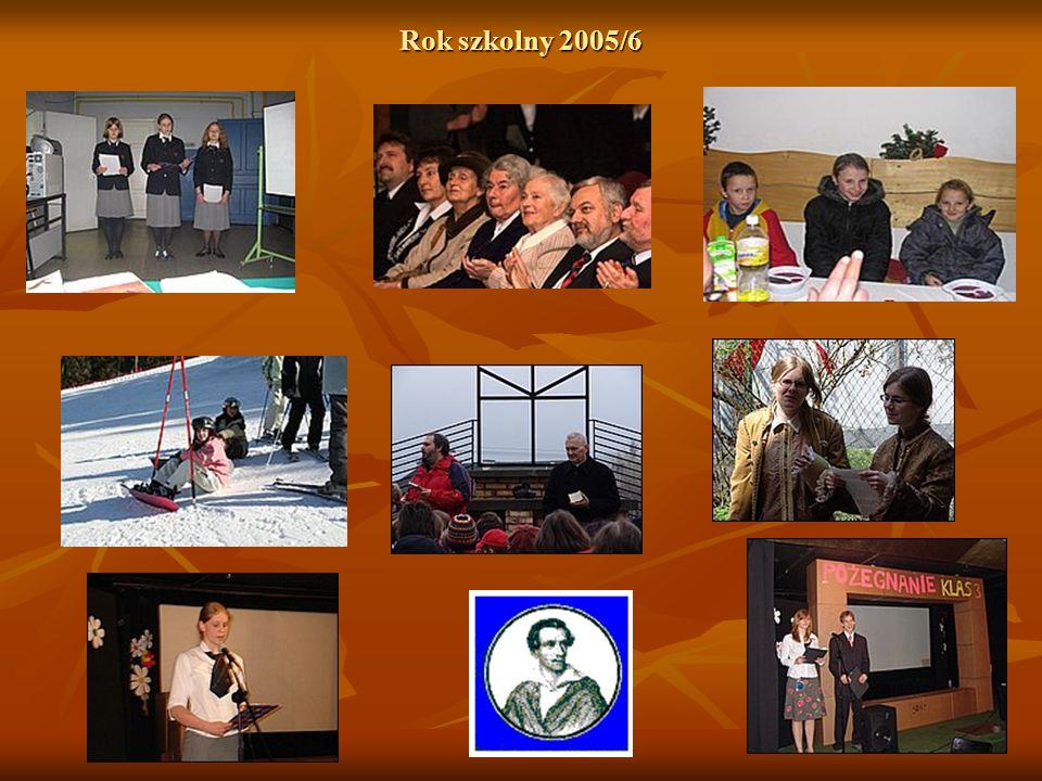 Rok szkolny 2005/6