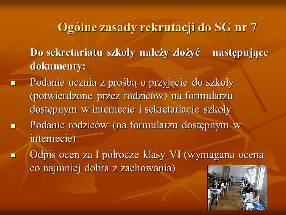 Udział uczniów w konkursach przedmiotowych 2005/2006 przedmiot etap rejonowy finaliści etapu rejonowego laureaci etapu rejonowego Język polski 61- Język niemiecki 3-3 Język angielski 211 Matematyka431 Fizyka321 Chemia965 Geografia221 Biologia52- Historia5--