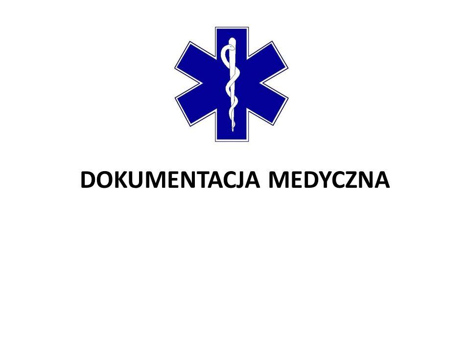 Dokumentacja medyczna to zbiór materiałów zawierających dane i informacje medyczne dotyczące stanu zdrowia pacjentów oraz udzielanych im świadczeń.
