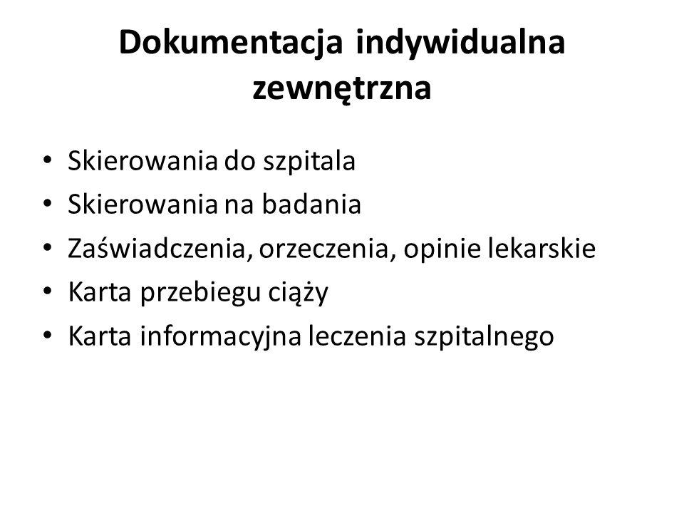 Każdy pacjent musi : Złożyć oświadczenie o upoważnienie do uzyskiwania informacji nt stanu zdrowia Udostępnianiu dokumentacji Wyrażeniu zgody na badania i zabieg lub objęcie opieką