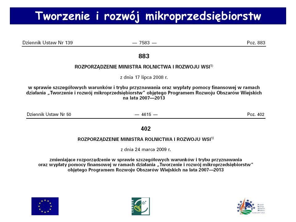 Zgodność operacji z LSR w ramach działania Tworzenie i rozwój mikroprzedsiębiorstw Zgodność operacji z LSR w ramach działania Tworzenie i rozwój mikroprzedsiębiorstw Cel II Dziedzictwo kulturowe ważnym czynnikiem rozwoju, integracji i promocji obszaru Preferowane będą operacje związane z: Budową wizerunku kulturalnego obszaru Podejmowaniem inicjatyw w celu uatrakcyjnienia ofert kulturalnej