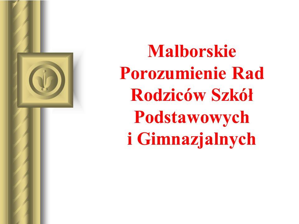 Malborskie Porozumienie Rad Rodziców Szkół Podstawowych i Gimnazjalnych