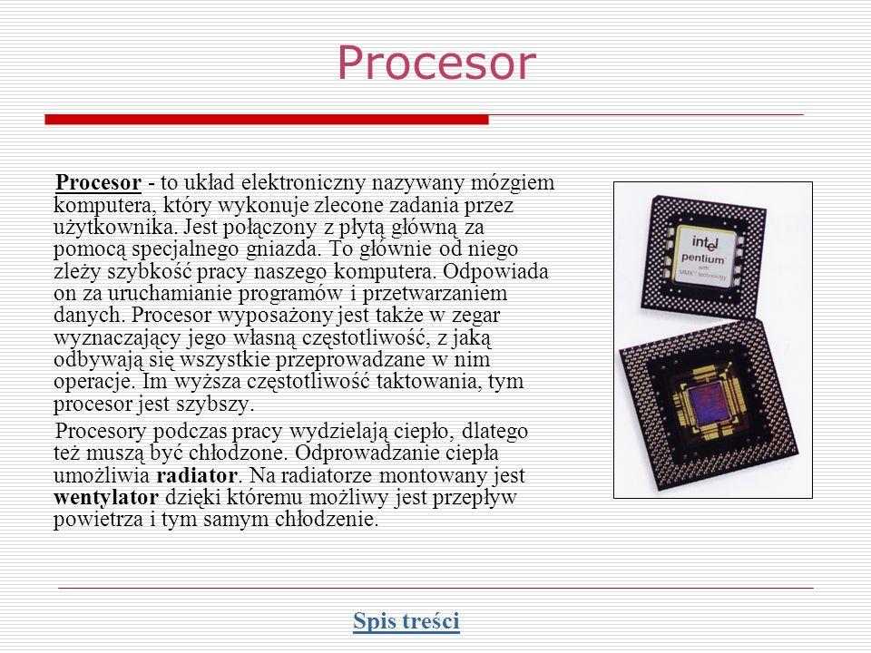 Pamięć komputera Pamięć wewnętrzna Pamięć ROM Pamięć operacyjna (RAM).