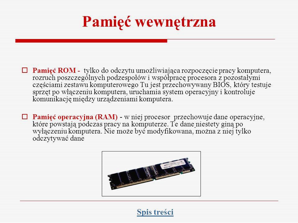 Pamięć zewnętrzna - dyskietka Dyskietka (ang.Floppy Disk FD) to nośnik do przechowywania danych.