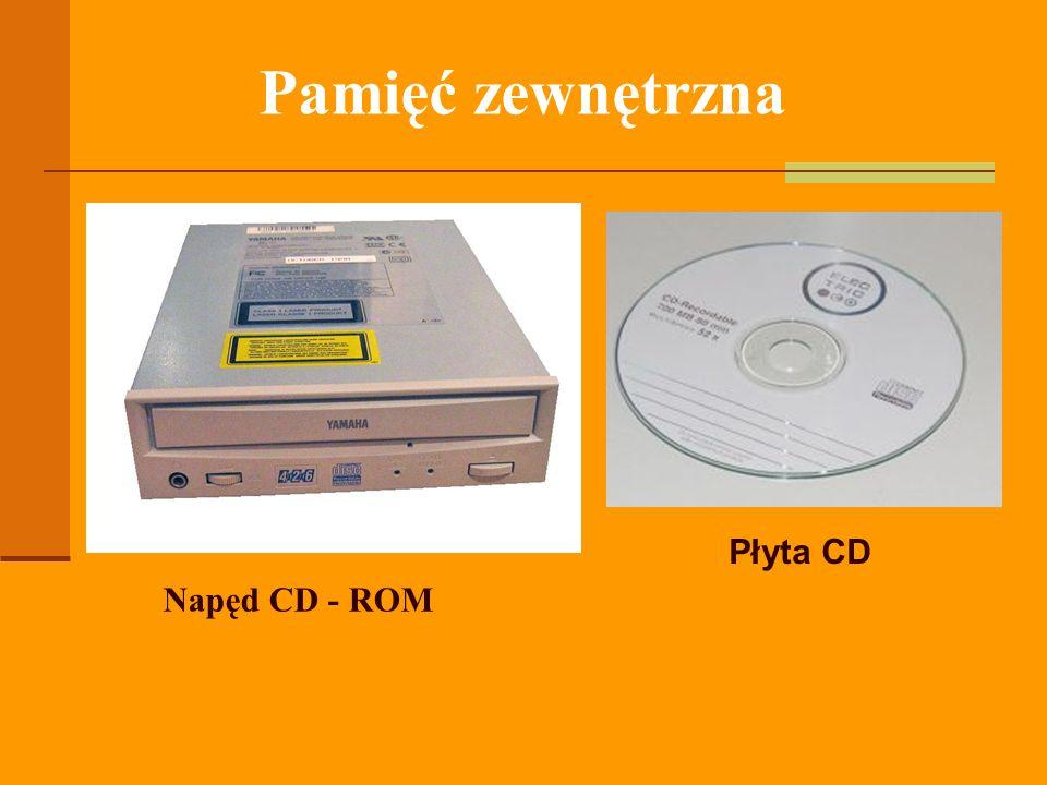 Napęd CD - ROM Płyta CD Pamięć zewnętrzna