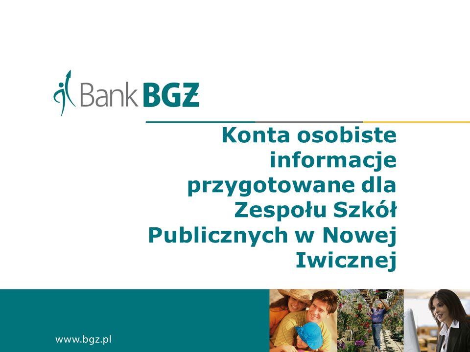 Konta osobiste informacje przygotowane dla Zespołu Szkół Publicznych w Nowej Iwicznej