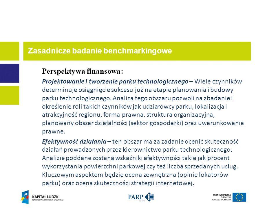 Perspektywa finansowa: Projektowanie i tworzenie parku technologicznego – Wiele czynników determinuje osiągnięcie sukcesu już na etapie planowania i b