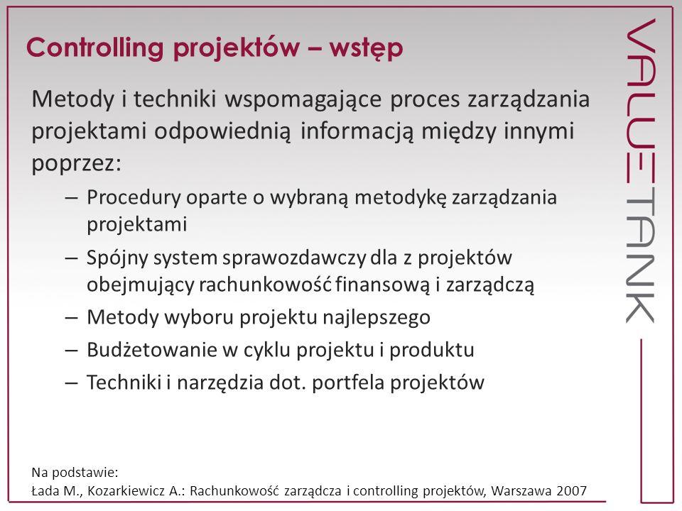 Projekt vs proces Proces Znana historia Zdolność do dokładnego zaplanowania Małe dopuszczalne odchylenia Projekt Ledwo dopasowane analogie z przeszłości Plany ogólne Duże odchylenia przy próbie planowania szczegółowego