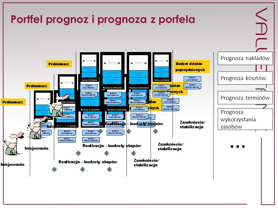 Relacje między projektami Które linie biznesu są zaangażowane.