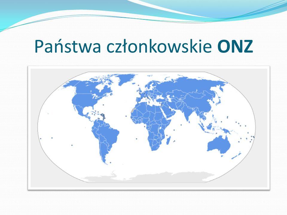 Państwa członkowskie ONZ
