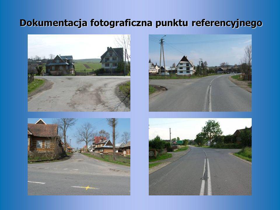 Dokumentacja fotograficzna punktu referencyjnego