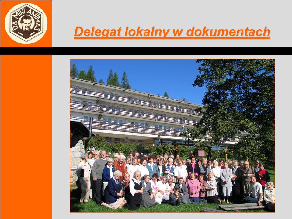 Stowarzyszenie Współpracowników Salezjańskich http://sws.salezjanie.pl e-mail:sws@salezjanie.pl Delegat lokalny w dokumentach