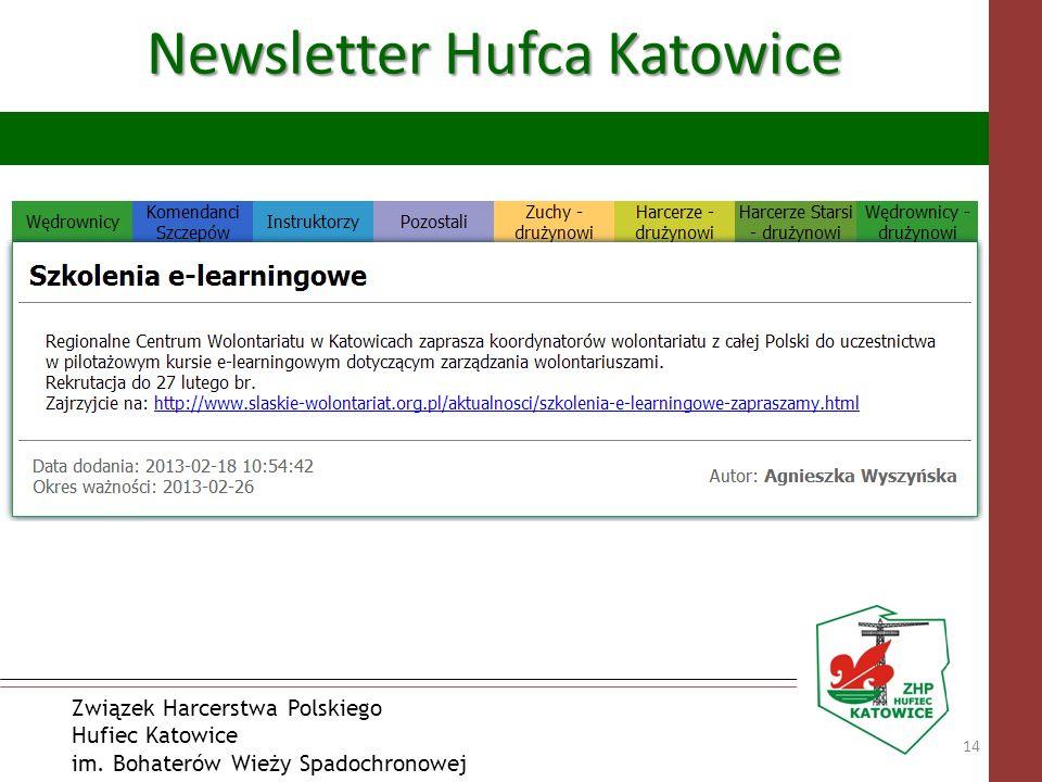 Związek Harcerstwa Polskiego Hufiec Katowice im. Bohaterów Wieży Spadochronowej Newsletter Hufca Katowice 14