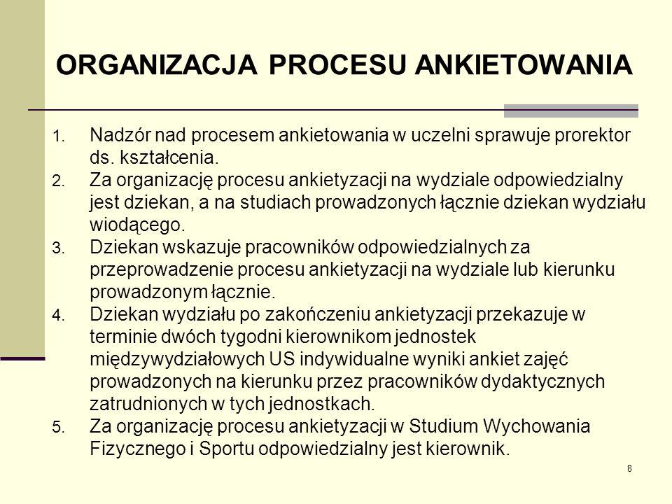Organizacja ankietyzacji: system Uczelnia zakupiła system Pilot – Testico Sona.