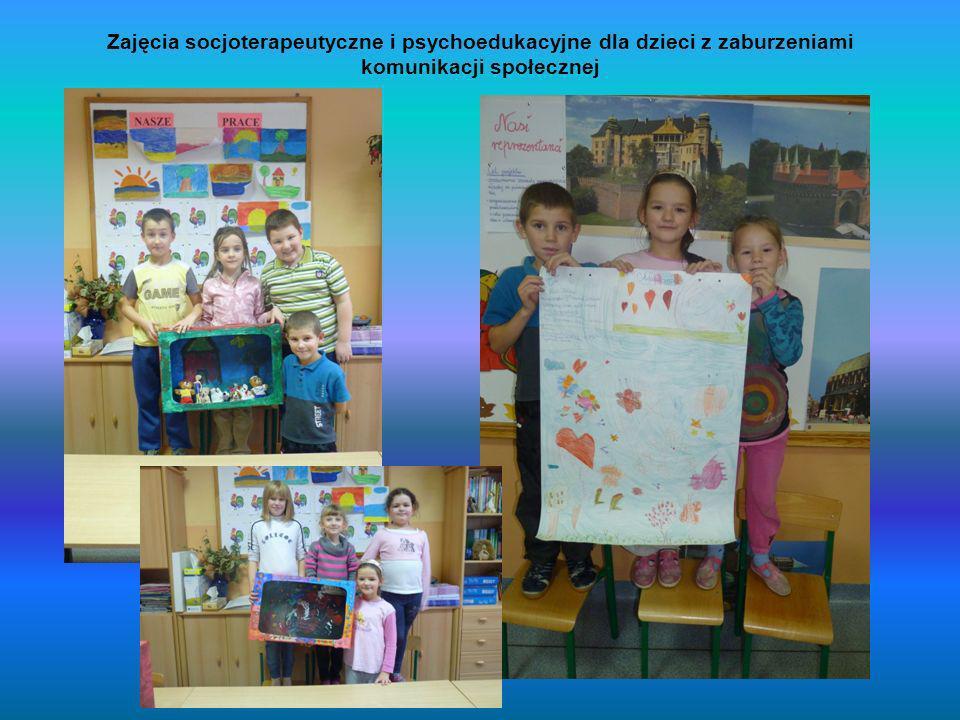 Zajęcia socjoterapeutyczne i psychoedukacyjne dla dzieci z zaburzeniami komunikacji społecznej