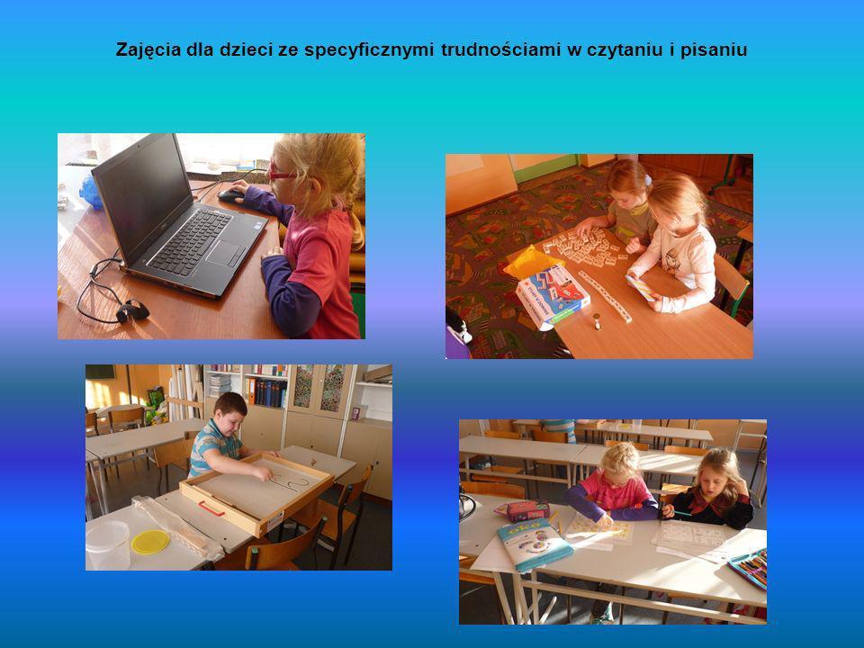 Zajęcia dla dzieci ze specyficznymi trudnościami w czytaniu i pisaniu