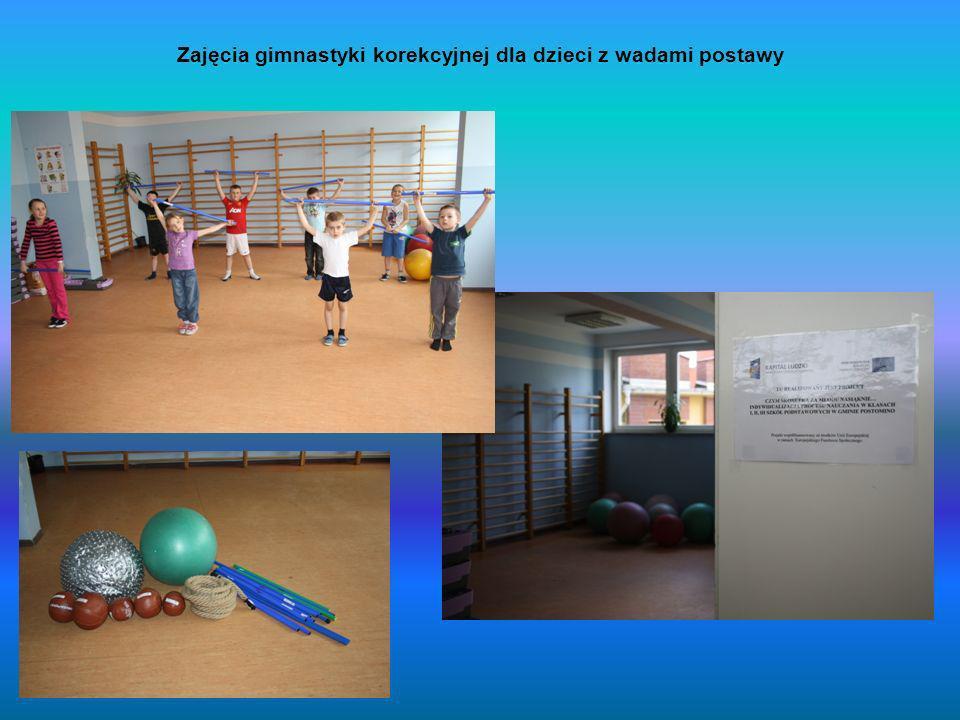 Zajęcia gimnastyki korekcyjnej dla dzieci z wadami postawy