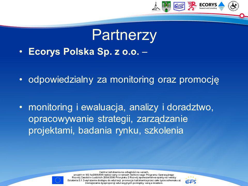 Partnerzy Ecorys Polska Sp.z o.o.