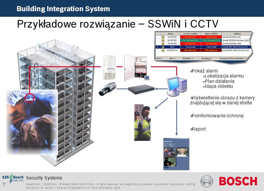 18 Building Integration System RSO EMEA ST/PRM2-EU | 06/2010 | BIS 2.3 Commercial | © Robert Bosch GmbH 2010.