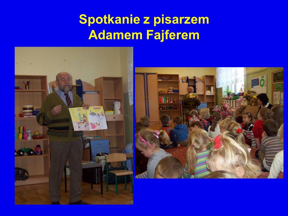 Spotkanie z pisarzem Adamem Fajferem