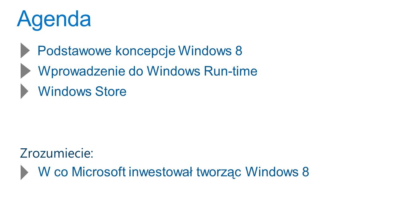 Szansa 500M Windows 234M Android phones 112M iPhone 40M iPad 13M Android tablets 247M Android 152M iOS 30M Mac As of December 2011