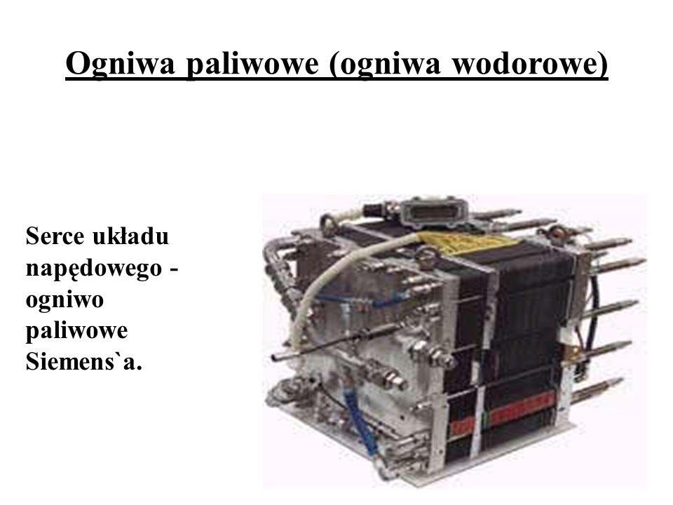 Serce układu napędowego - ogniwo paliwowe Siemens`a. Ogniwa paliwowe (ogniwa wodorowe)
