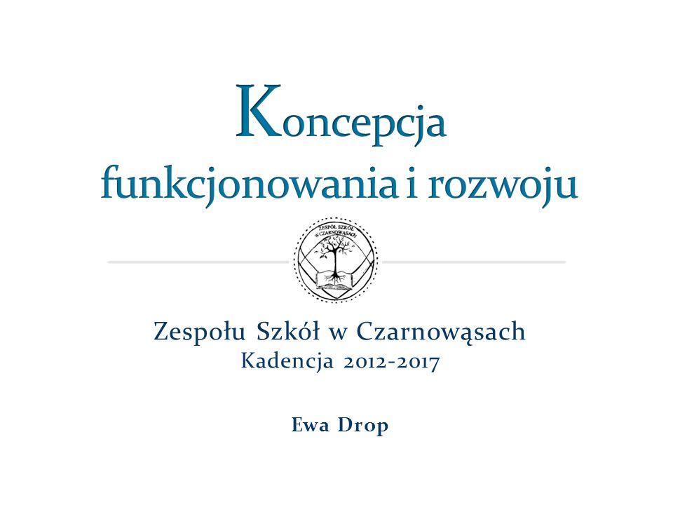 Zespołu Szkół w Czarnowąsach Kadencja 2012-2017 Ewa Drop