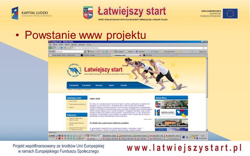 Powstanie www projektu