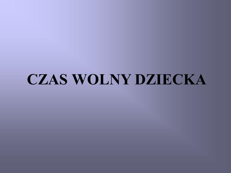 CZAS WOLNY DZIECKA